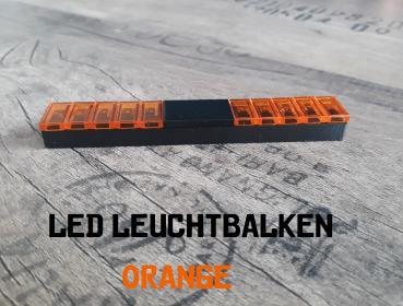 LED Lichtbalken / Leuchtbalken / Blaulichtbalken / Lightbar  / Warnbalken in ORANGE