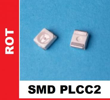 "SMD ""rot"" 600mcds 120° PLCC2 / 3528"