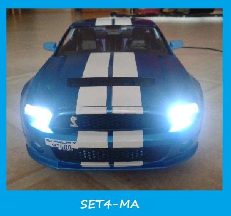 Front And Rear Lights For Model Cars / MINI Z 3mm LEDs SET4