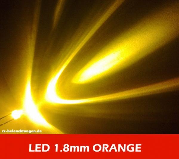 8mm Orange Led: LEDs & Zubehör