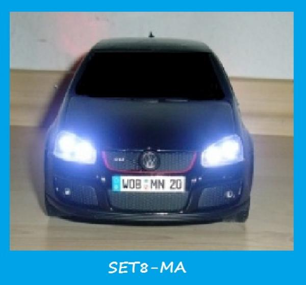 rc beleuchtungen de beleuchtung rc car leds zubeh r modellbau sounds blitzlicht front. Black Bedroom Furniture Sets. Home Design Ideas