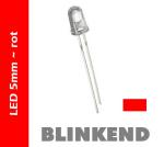 "LED BLINKEND 5mm ""ROT"" 6.000mcds"